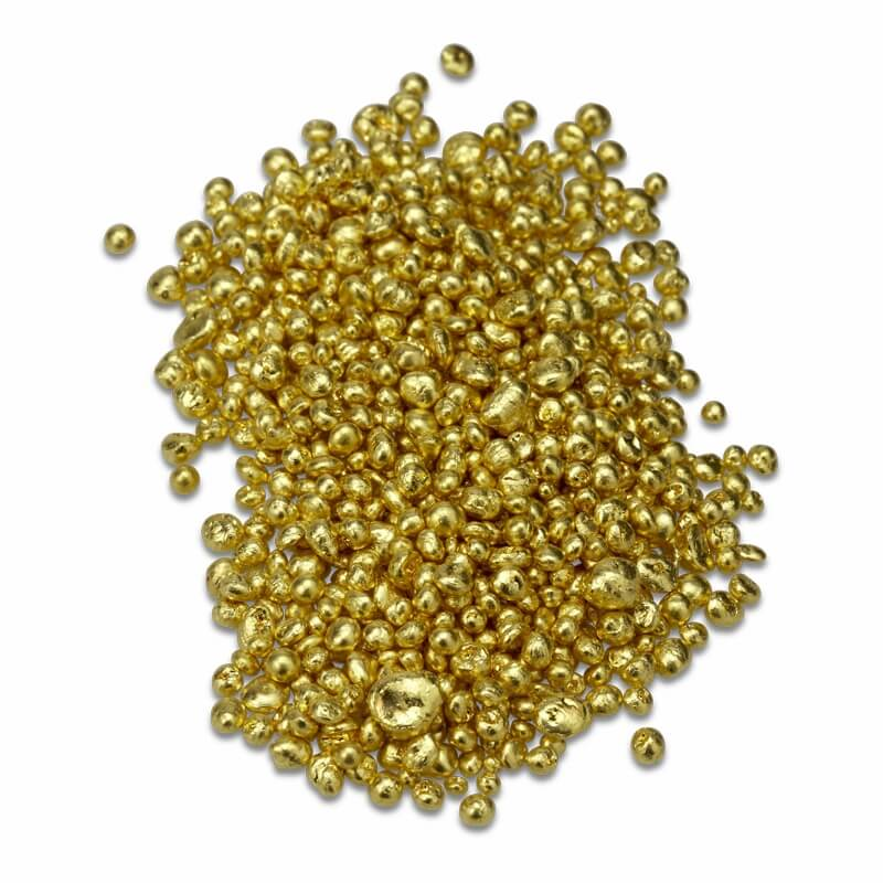 Gold Bullion Items 24 Karat 99 99 Pure Gold Granules